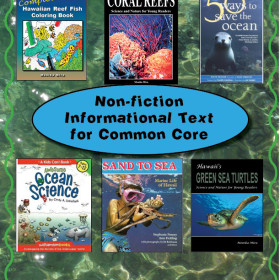 Ocean Theme Nonfiction Informational Text for Common Core
