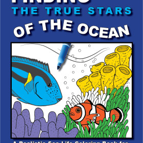 Sea Life coloring book for future marine biologists