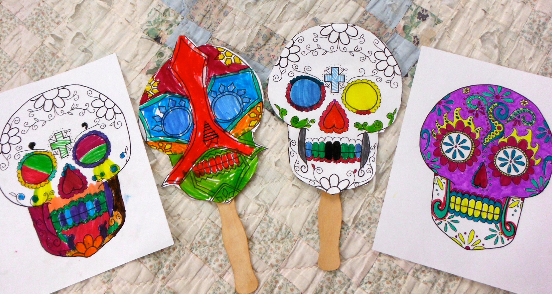 Dia De Los Muertos Craft Kids