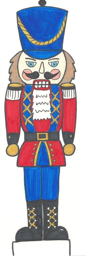 Free Nutcracker Coloring Page