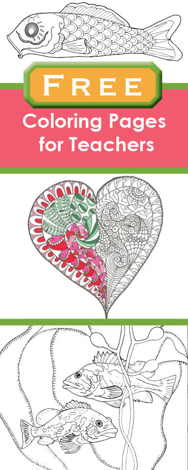 Free Coloring Pages for teachers