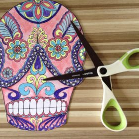 Day of the Dead Mask Making Craftivity